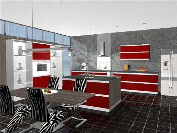 Diseño de cocinas 3d gratis