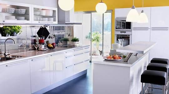 Dise o de cocinas con isla for Cocina comedor con isla