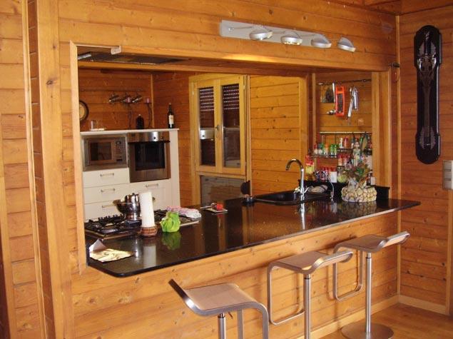 Dise o de cocinas de madera for Disenos de muebles para cocina en madera
