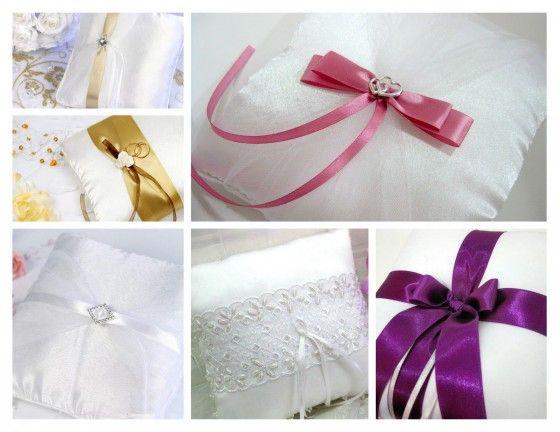 Hacer cojines de boda