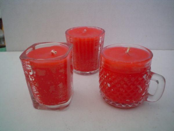 Hacer velas decorativas aromáticas