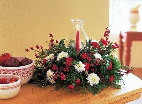Manualidades centros de navidad - Centros de navidad originales ...