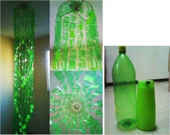 Manualidades con botellas plasticas recicladas