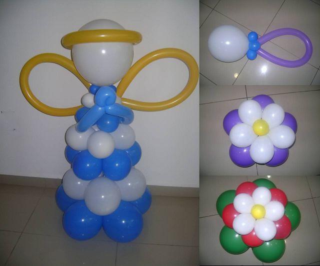 Manualidades con globos for Manualidades decoracion infantil