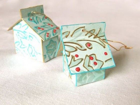 Manualidades con papel construccion - Manualidades con rollos de papel higienico navidenos ...