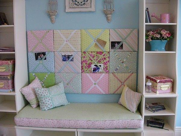 Manualidades en tela para el hogar for Manualidades decoracion hogar
