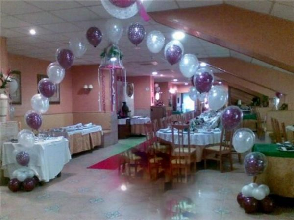 Materiales para decorar con globos