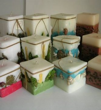 Materiales para velas aromaticas