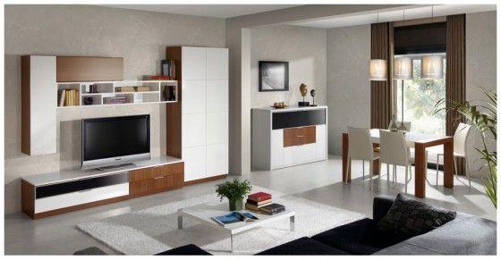 Muebles de salon comedor - Salon comedor modernos ...