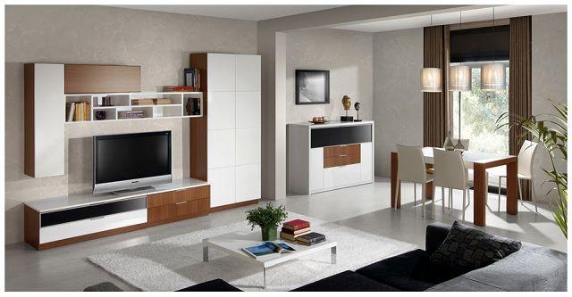 Muebles de salon comedor for Salones de comedor modernos