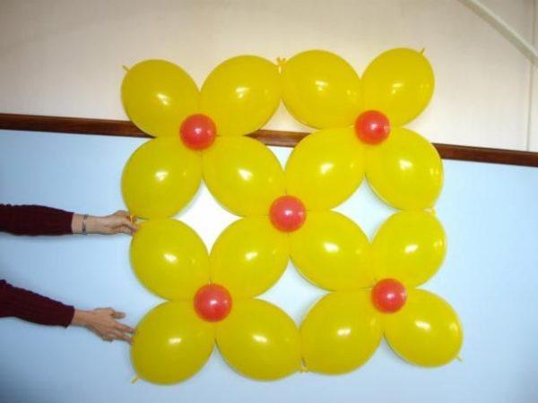 Paso a paso para decorar con globos for Como hacer decoracion con globos