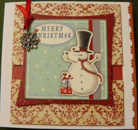Tarjeta de navidad manualidades - Tarjeta de navidad manualidades ...