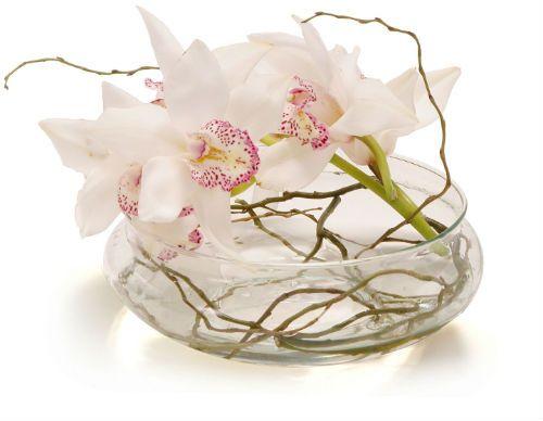 Centros de mesa con orquídeas