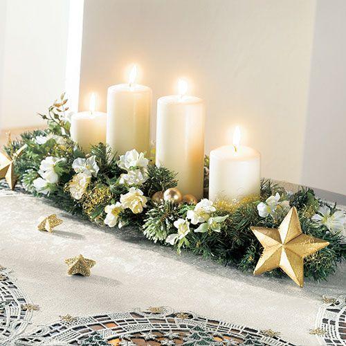 Centros de mesa de navidad - Arreglos navidenos para mesa ...