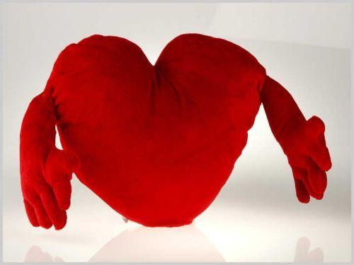 Cojines corazón