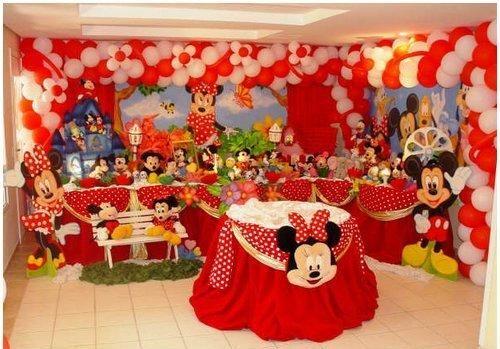 Como decorar una fiesta infantil con globos - Decoracion para fiestas infantiles mickey mouse ...