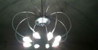 Lámparas arañas modernas