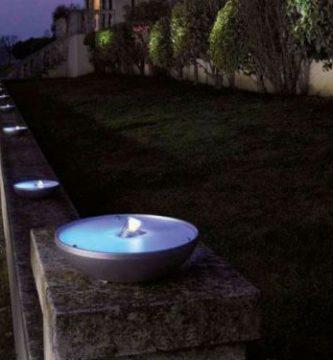 Lámparas exteriores modernas