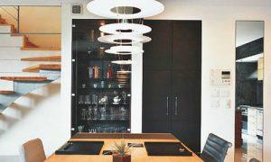 Lámparas modernas salón