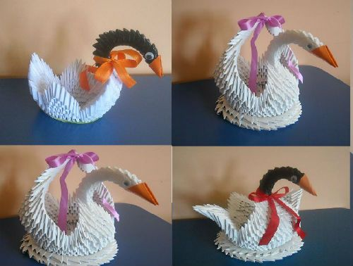 Manualidades con papel origami
