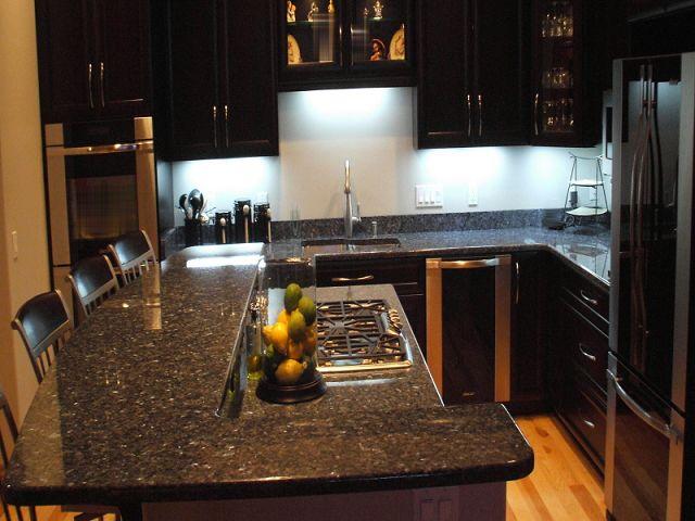 Cocinas integrales con granito - Colores de granito para cocinas ...