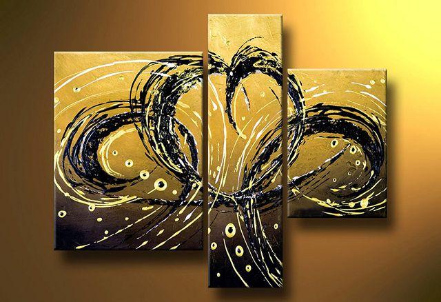 Como pintar un cuadro abstracto - Como hacer cuadros abstractos modernos ...