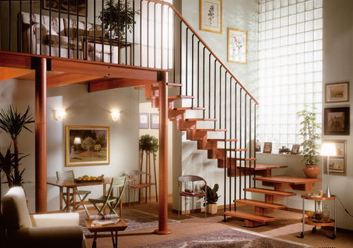 Decoraci n de interiores escaleras - Ideas para escaleras de interior ...