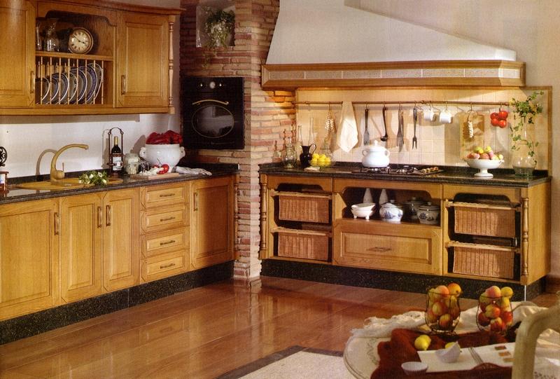 Decorar cocinas r sticas - Como decorar una cocina rustica ...