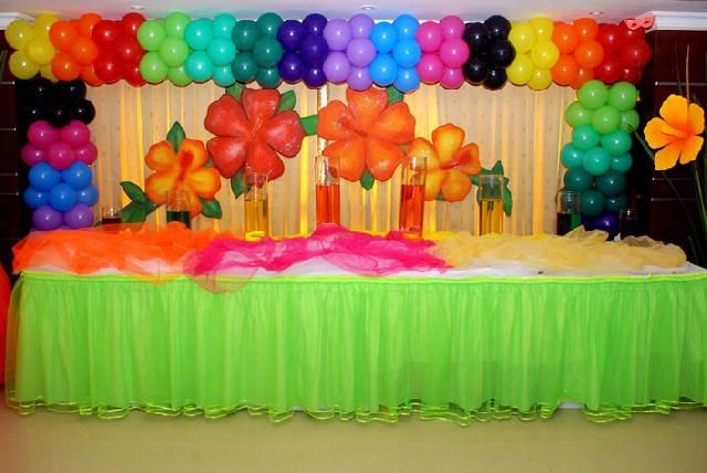 Decorar fiestas con globos for Decoracion y ambientacion de eventos