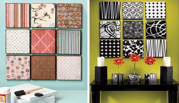 Dibujos modernos para cuadros for Reciclaje decoracion hogar