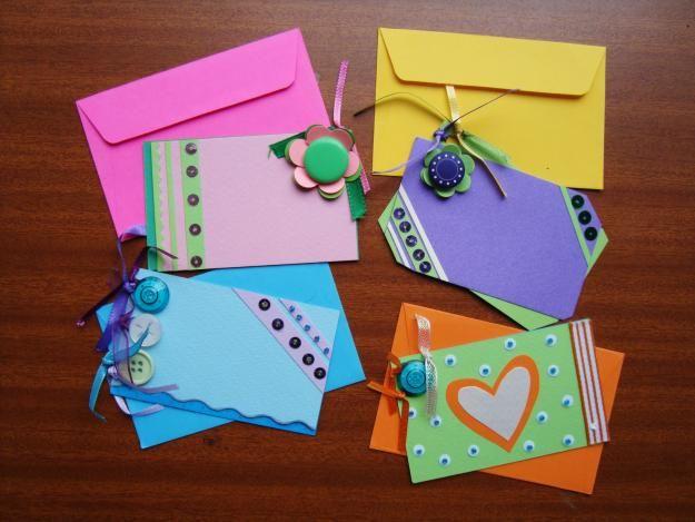 Manualidades para hacer tarjetas de navidad - Tarjetas de navidad manuales ...