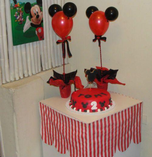 Centros de mesa de globos para fiestas infantiles