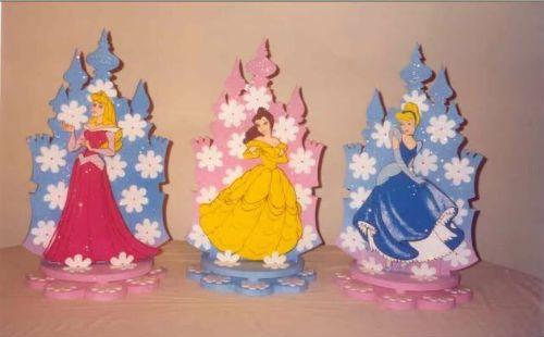 Centros de mesa de las princesas de disney