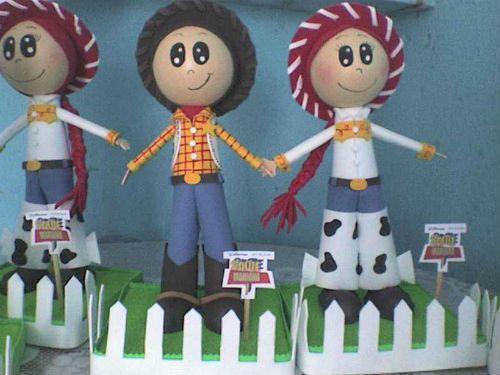 Centros de mesa de toy story 3