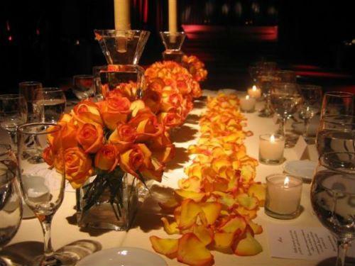 Centros de mesa flores