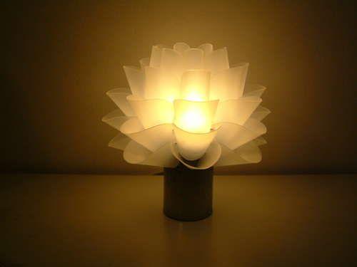 Centros de mesa iluminados
