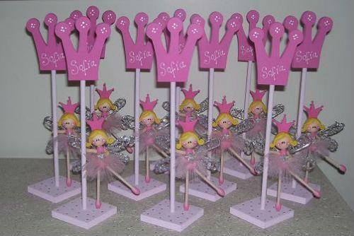 Centros de mesa infantiles de princesas