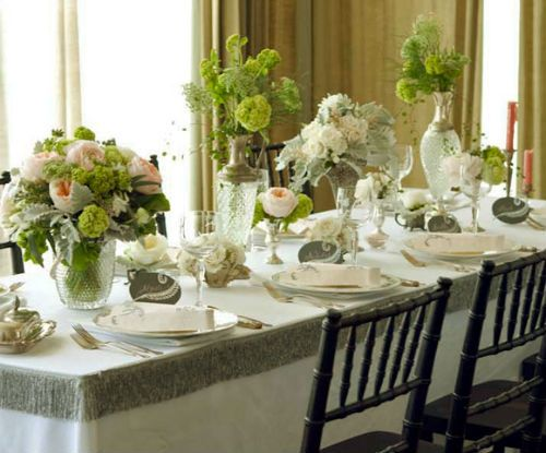 Centros de mesa naturales para boda