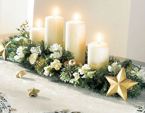 Centros de mesa navideño