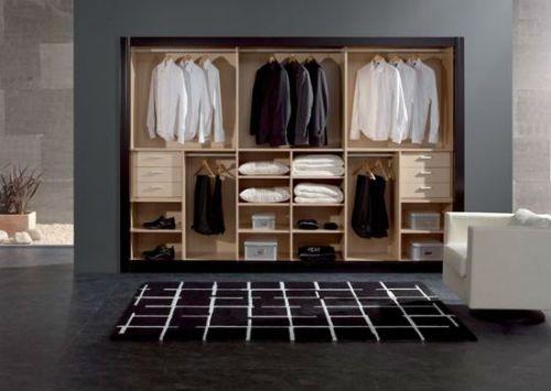 Closets modernos para dormitorios for Closet de madera modernos pequenos