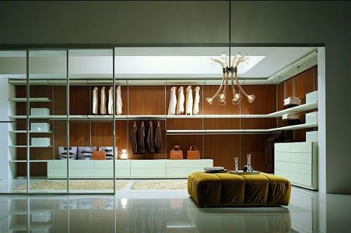 Closets modernos for Disenos de closets modernos