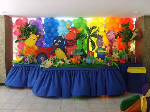 Como decorar con globos para fiestas infantiles - Decoracion fiestas infantiles para ninos ...