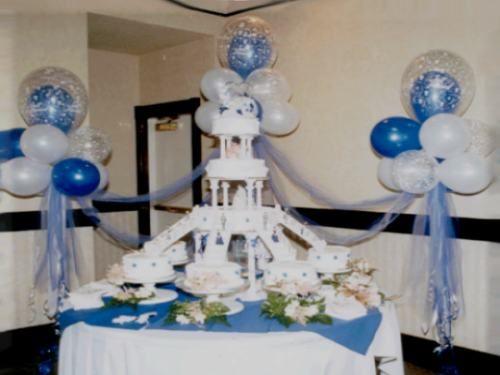 Como decorar con globos para un bautizo