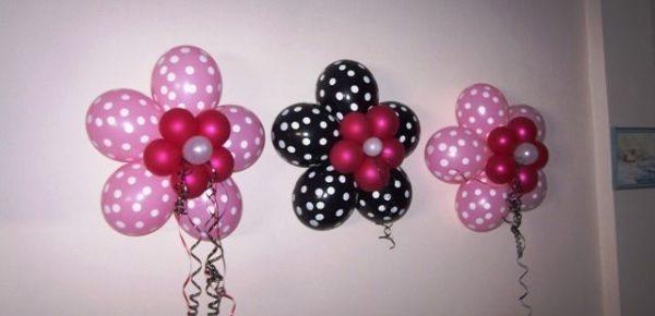 Como decorar con globos paso a paso