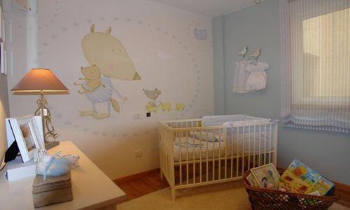 Como decorar el cuarto del bebe for Cortinas habitacion bebe