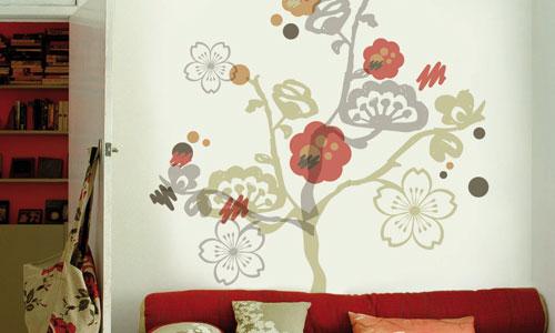 Dise o en paredes - Papel adhesivo para decorar ...