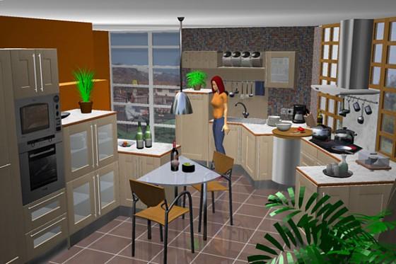 Diseño virtual de cocinas