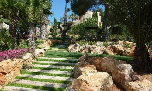 Dise o y decoracion de jardines for Diseno jardin mediterraneo
