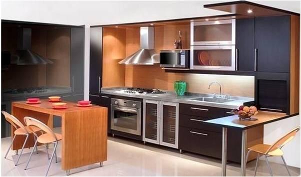 Dise os cocinas integrales modernas - Mesas para cocinas modernas ...