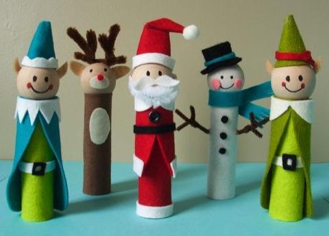 Manualidades navide as con papel - Manualidades con papel navidenas ...